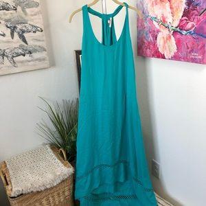 Ella Moss Teal Dress Size M